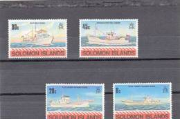 Salomon Nº 402 Al 405 - Islas Salomón (1978-...)