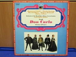 LP054-DON CARLO -SELEZIONE DELL'OPERA- MONTSERRAT CABALLE-PLACIDO DOMINGO SHERRIL MILNES-RUGGERO RAIMONDI-SCIRLEY VERRET - Opera