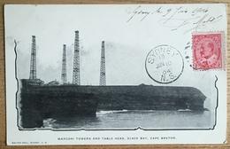 Marconi Towers And Table Head, Glace Bay, Cape Breton. Sydney. T.S.F. - Cape Breton