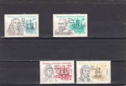 Tonga Nº 589 Al 592 - Tonga (1970-...)