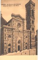 POSTAL   FIRENZE (FLORENCIA)  -FACHADA DE LA CATEDRAL - Firenze (Florence)