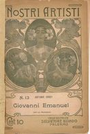 GIOVANNI  EMANUEL   Collana  I NOSTRI ARTISTI   N° 13 - Bibliographien