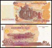 Cambogia 50 Riel 2002 - Cambodia UNC FdS - Cambogia