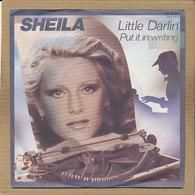 """7"""" Single, Sheila & B. Devotion, Little Darlin - Disco, Pop"""