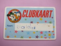 Disney Boekenclub Card - Phonecards