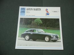 CARTOLINA CARD SCHEDA TECNICA  AUTO  CARS ASTON MARTIN DB2-4 - Altre Collezioni