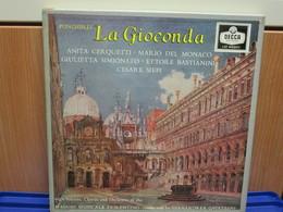 LP058 - COFANETTO 3 LP + LIBRETTO - LA GIOICONDA -ANITA CERQUETTI-MARIO DEL MONACO GIULIETTA SIMIONATO-ETTORE BASTIANINI - Opera