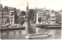 POSTAL      AMSTERDAN  -HOLANDA  - BINNEN AMSTEL EN GROENBURGWAL - Amsterdam