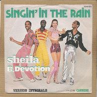 "7"" Single, Sheila & B. Devotion, Singin In The Rain - Disco, Pop"