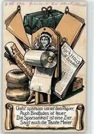 52912164 - Sparsamkeit Humor - War 1914-18