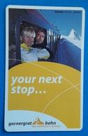 ZERMATT Used Skii Pass 2018 Skii Lift Skii Ticket Matterhorn Gotthard Bahn Train - Titres De Transport