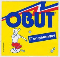 A5 , VP 5 : Autocollants : OBUT , La  Pétanque - Autocollants