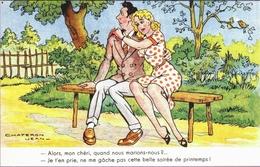 CPSM HUMOUR. ILLUSTRATION J. CHAPERON - Humor