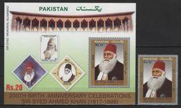 Pakistan (2017) - Set + Block -  /  Syed Ahmed Khan - Pakistan