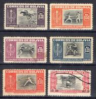 AMÉRIQUE LATINE ! Timbres Anciens Et AÉRIENS De BOLIVIE De 1948 ! NEUFS - Bolivie