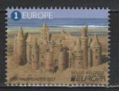 Belgique - Belgium (2017) - Set -   /  Europa CEPT Europe - Sand Castle - Unusual SAND - Autres