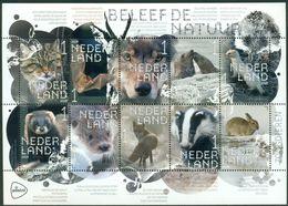 Nederland  2019 Natuur Vos Rendier Zeehond  Animals  Sheetlet Postfris/mnh/neuf - Period 1980-... (Beatrix)