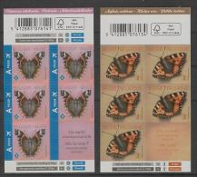 Belgique (2013) - 2 Booklets -  /  Butterflies - Butterfly - Papillon - Vlinders - Vlinders