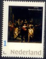 Nederland  2019 Rembrandtjaar   Painting Nachtwacht Nightwatch     Postfris/mnh/neuf - Period 1980-... (Beatrix)