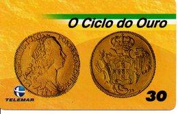 Télécarte Brésil   - Billet Monnaie Money Pièce Numismatique Bank Banque  Phonecard  (G 702) - Timbres & Monnaies