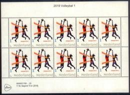 Nederland  2019  Volleyball    Sport  Vel/sheetlet      Postfris/mnh/neuf - Period 1980-... (Beatrix)