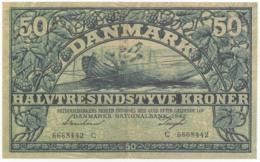 Denmark, 1942, 50 Kroner, Reproduction Banknote - Danemark