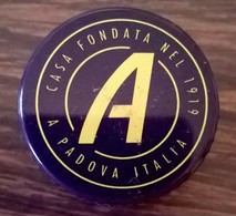 Italie Capsule Aluminium à Visser APEROL - Capsules & Plaques De Muselet