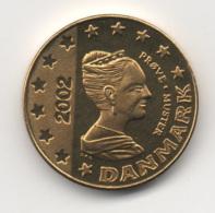 Denmark 2002, 10 Euro Cent, Trial Probe Essai, UNC - Denemarken