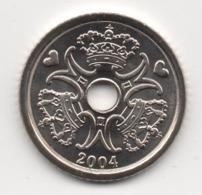 Denmark 2004, 1 Krone, UNC - Denemarken