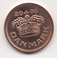 Denmark 2005, 50 Ore, UNC - Denemarken