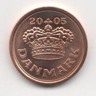 Denmark 2005, 25 Ore, UNC - Denemarken