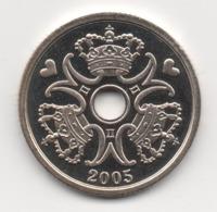 Denmark 2005, 2 Kroner, UNC - Denemarken