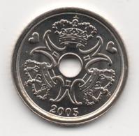 Denmark 2005, 1 Krone, UNC - Denemarken