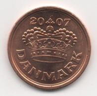 Denmark 2007, 50 Ore, UNC - Denemarken