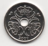 Denmark 2007, 2 Kroner, UNC - Denemarken
