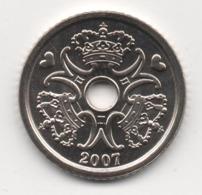 Denmark 2007, 1 Krone, UNC - Denemarken