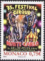 "Monaco YT 2756 "" Festival Du Cirque "" 2010 Neuf** - Monaco"