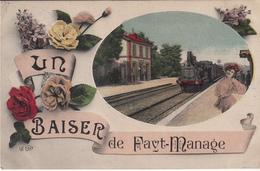 Un Baiser De Fays-Manage  - état Voir Scan. - Manage