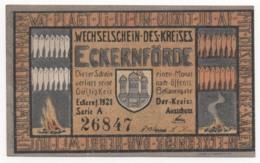 Germany 1921, 50 Pfennig, Eckernförde, Notgeld, UNC - [11] Lokale Uitgaven