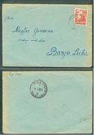 Yugoslavia 1956 Ambulance Bahnpost Railway Mail Post Osijek - Vrpolje 217 A Banjaluka Letter - Covers & Documents