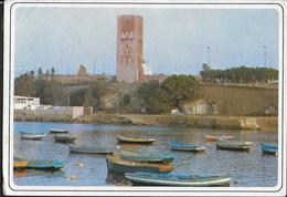 MAROCCO - RABAT - TOUR HASSAN - VIAGGIATA FRANCOBOLLO ASPORTATO - Rabat