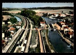 55 - MUSSEY - VUE AERIENNE - L'ECLUSE ET LE CANAL - Other Municipalities