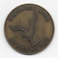 Netherlands: 11 Luchtmobiele Brigade. Military Coin, Medal - Andere Landen
