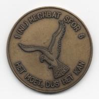 Netherlands: 1(NL) Mechbat SFOR 6. Military Coin, Medal - Andere Landen