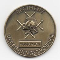 Netherlands: Regimant Verbindingstroepen. Military Coin, Medal - Medailles & Militaire Decoraties