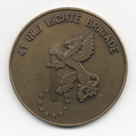Netherlands: 41 (NL) Lichte Brigade. Military Coin, Medal - Andere Landen