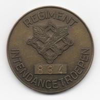 Netherlands: Regiment Intendancetroepen. Military Coin, Medal - Medailles & Militaire Decoraties