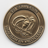 Netherlands: 931 Squadron. Military Coin, Medal - Andere Landen