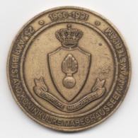 Netherlands: 25 Jaar Bijstand Koninklijke Marechaussee. Military Coin, Medal - Medailles & Militaire Decoraties