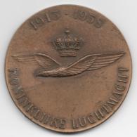 Netherlands: 1913-1958 Koninklijke Luchtmacht. Military Coin, Medal - Medailles & Militaire Decoraties